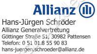 Allianz-Schroeder-Aufkleber