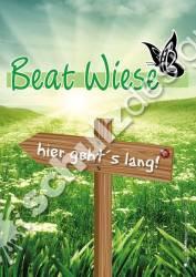 BeatWiese-Plakat-A3-Richtungspfeil-links