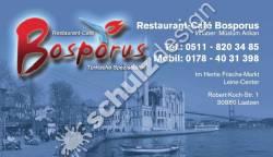 Bosporus-Visitenkarte