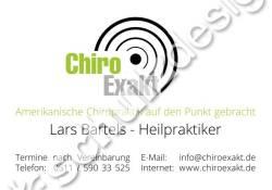 ChiroExakt-Praxisschild