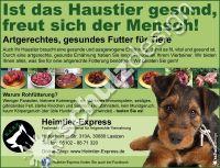 Heimtier-Express-Anzeige