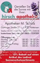 Hirsch-Apotheke-Anzeige-1,4-Stadtmagazin-2013