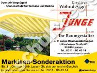 Junge-Anzeige-702-Markisen-gelb
