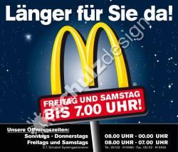 McDonalds-Klebefolie-Oeffnungszeiten