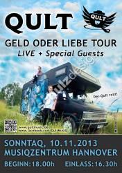 Qult-Plakat-Geld-oder-Liebe-Tour