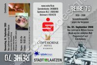 Programmheft & Eintrittskarte Reihe 70 Noa Lachman