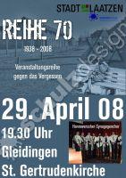 Plakat DIN A2 Reihe 70 2008-04-29
