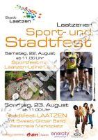 Stadt Laatzen Stadtmarketing Plakat A1 Stadtfest 2009
