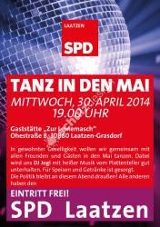 SPD-Plakat-A1-Tanz-in-den-Mai2014