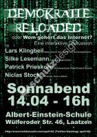 Demokratie-reloaded-Plakat-A2