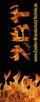 Zoeller-Fahnenmasten-Flammen