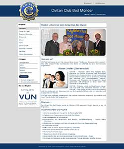 Webdesign Civitan Club Bad Münder