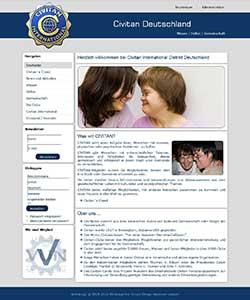Webdesign Civitan International Distrikt Deutschland