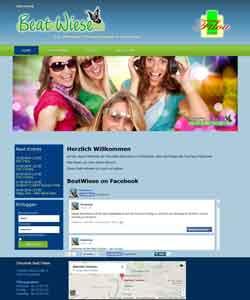 Webdesign Discothek BeatWiese Osnabrück