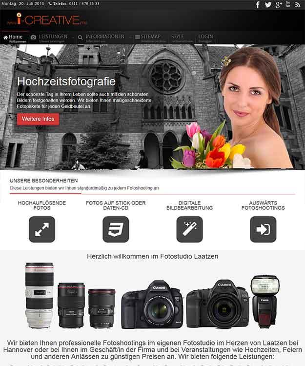 Fotostudio Laatzen Fotograf Hannover Hochzeitsfotografie Veranstaltungsfotografie