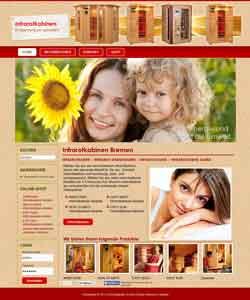 Webdesign Infrarotkabinen Bremen