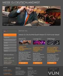 Webdesign Messe DJ Deutschlandweit Hannover