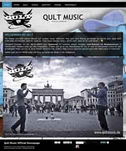 Werbeagentur Berlin - Webdesign Music Band Berlin Hannover