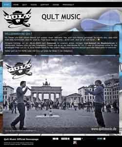 Webdesign HipHop Musiker Musikwebseite Berlin Hannover