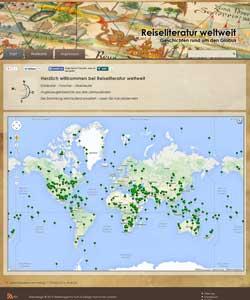 Webdesign Reiseliteratur weltweit - Geschichten rund um den Globus