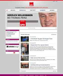 Webdesign Thomas Print Bürgermeister der Stadt Laatzen