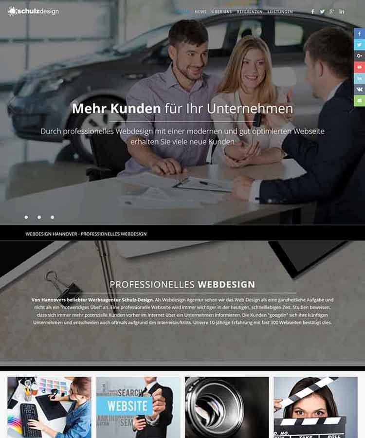 Homepage Laatzen Webdesign Hannover