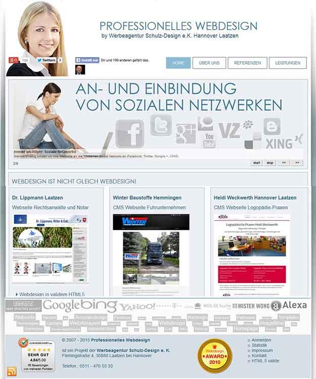 Webdesigner Webdesign Hannover Full-Service Internetagentur Laatzen