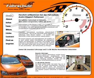 Webdesign Fahrschule André Klippert Pattensen