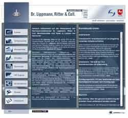 Webdesign Rechtsanwälte und Notar Dr. Lippmann, Ritter und Coll Laatzen