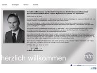Webdesign Rechtsanwalt Mark-Tobias Matthies Laatzen