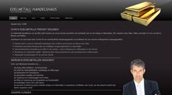 Webdesign Edelmetall-Handelshaus