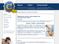 Webdesign Civitan Club Hameln