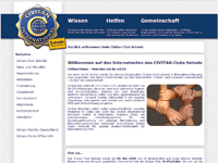 Webdesign Civitan Club Sehnde