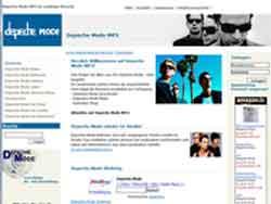 Webdesign Depeche Mode Hannover - Laatzen