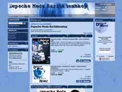 Webdesign Depeche Mode Webshop Hannover - Laatzen