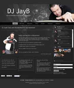 Webdesign DJ JayB Club und Discotheken DJ Laatzen
