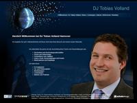 Webdesign DJ Tobias Volland Hannover