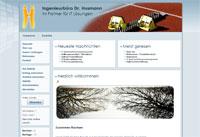 Webdesign Igenieurbüro Dr. Husmann Bad Salzdetfurth