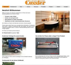 Webdesign Fliesenhandel C.u.s.s.l.e.r Hannover