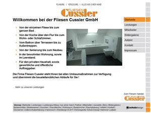 Webdesign Fliesenverlegung Hannover