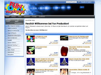 Webdesign Fun Production Webshop Dachsenhausen
