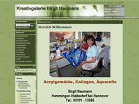 Webdesign Kreativgalerie Birgit Neumann Burgdorf