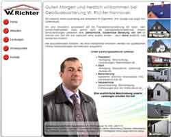 Webdesign Gebäudesanierung Hannover