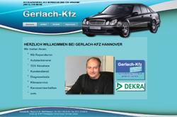 Webdesign Gerlach-Kfz Autowerkstatt Hannover