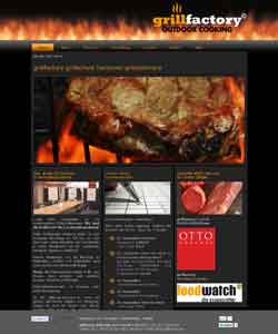 Webdesign Grillfactory Grillschule Hannover