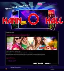 Webdesign Hann O Hall Partyzelt Hannover