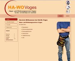 Webdesign Hausmeister Haus- und Wohnungsservice Voges Hildesheim
