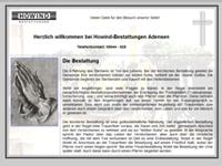 Webdesign Howind Bestattungen Nordstemmen