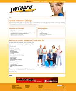 Webdesign Integra Sportstudio Fitnesszentrum Pattensen