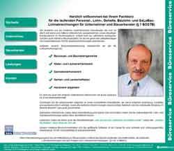 Webdesign Buchhalter Klaus Jürries Hildesheim - Giesen